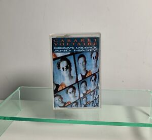 CABARET VOLTAIRE CASSETTE TAPE GROOVY, LAIDBACK AND NASTY PLAY TESTED