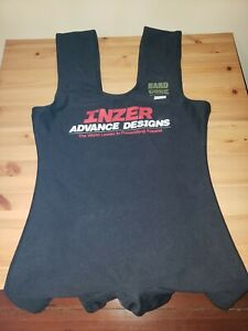 Inzer HardCore Squat Suit Size 38 Black (used once) single ply, IPF legal,