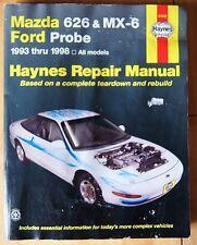 Mazda 626 MX-6 1993 1998  Haynes 61042 Repair Manual Ford Probe Workshop