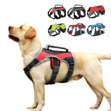 Breathable Dog Harness Reflective No Pull Quick Fit Large Dog Vest & Lift Handle