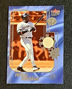 22/25 Barry Bonds 2002 Fleer Ultra Hitting Machines Platinum Game Used Bat