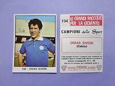FIGURINA PANINI CAMPIONI DELLO SPORT CALCIO N.134 SIVORI NAPOLI 1966-67 NEW-FIO