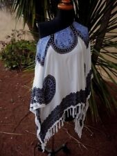 Stunning OFF SHOULDER Resort Style KAFTAN BEACH COVER UP One Size BNWOT