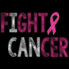 Fight Cancer Tshirt    Sizes/Colors