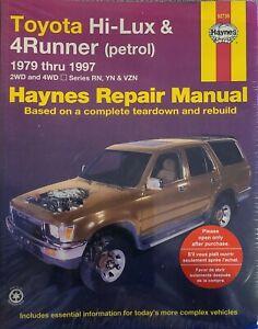 Toyota Hilux Haynes 1979-1997 2wd / 4wd 4runner Petrol Repair Manual