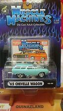 Muscle Machines '65 Chevelle Wagon (9987)