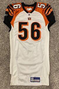 Team Issued Reebok Cincinnati Bengals Brian Simmons 2004 jersey sz 46