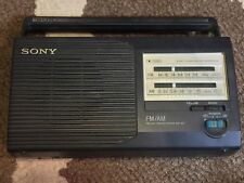 Sony Icf-24 Portable Fm/Am Radio Nice