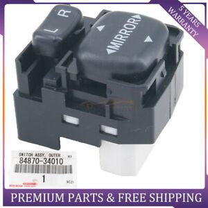 1x Driver Side Mirror Control Switch for Tundra 2000-2006 FJ Cruiser Prius tC iQ