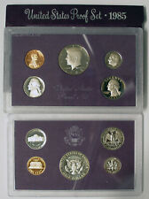 1985 S UNITED STATES PROOF COIN SET ORIGINAL GOVERNMENT PACKAGING
