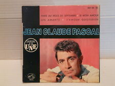JEAN CLAUDE PASCAL Paris au mois de septembre .. EGF 593