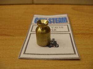 CJW Steam BRASS SAFETY VALVE COVER Mamod Te1a SR SW Live steam models
