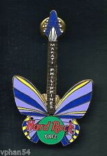Hard Rock Cafe MAKATI, PHILIPPINES Butterfly Pin. P3