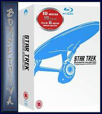 STAR TREK - MOVIES 1 - 10  REMASTERED- STARDATE COLLECTION *BLU-RAY REGION FREE*