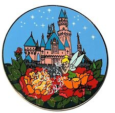 Rare Le 100 Disney Auctions Pin✿Tinker Bell Tink Elizabete Gomes Castle Flowers