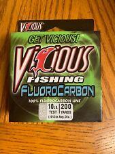 vicious fluorocarbon fishing line