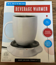 Intertek Electric Beverage Warmer Coffee Tea Cocoa Desk Top Nib Free shipping