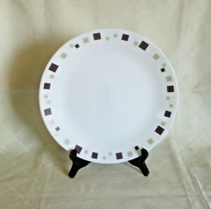 """Vintage Corelle by Corning USA Replacement 10"""" Dinner Plate *Geometric Pattern"""