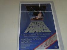 STAR WARS POSTER RETURN REVENGE OF THE JEDI VINTAGE 1982 LUCASFILM ROTJ MINT LFL