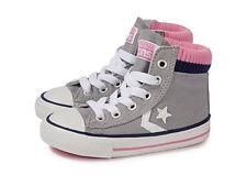 Converse Calcetines Hi Para Niños Niños gris/rosa