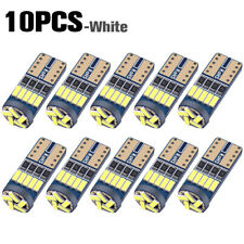 10pcs T10 LED Canbus Error Free Bulb 15SMD 194 W5W Car Wedge Lamp Dome Map Light