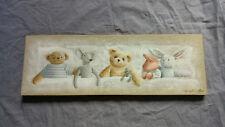 Tableau décoration chambre enfant ours