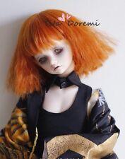 Bjd Doll Wig 1/3 8-9 Dal Pullip AOD DZ AE SD DOD LUTS Dollfie orange Head Toy