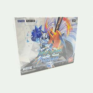 Digimon Card Game Battle of Omni Display BT-05 Booster BT-05 Box
