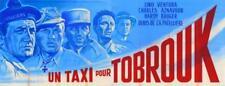 Repro 30x40cm -  UN TAXI POUR TOBROUK - Française