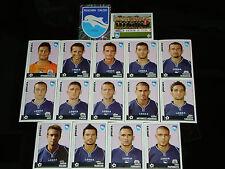 FIGURINE CALCIATORI PANINI 2006-07 SQUADRA PESCARA CALCIO FOOTBALL ALBUM