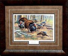 Cynthie Fisher Spring Strut Wild Turkey Print-Framed 21 x 17