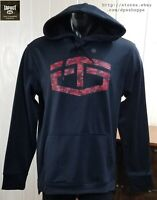 NEW TAPOUT HOODIE PULLOVER SWEATSHIRT BLUE CROSS TRAINING JACKET SZ M