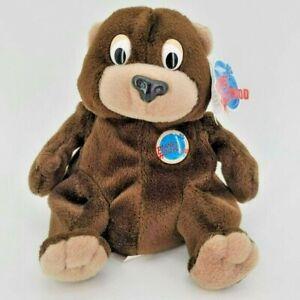 NWT Vintage Planet Hollywood Cosmo Beanie Bear Plush 1997