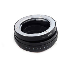 Tilt Lens Adapter Suit For Minolta MD Lens to Sony E Mount NEX Camera
