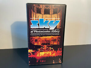 Sky at Westminster Abbey PRE CERT VHS RARE BBC VIDEO