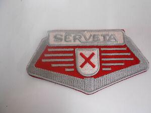 Lambretta Serveta Embroidered Sew on Patch Badge 003164