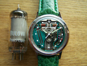 Accutron 214 H  Stainless Steel 1964 M4, SPACEVIEW Tuning Fork  rebuilt Great