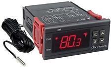 Ac 110V Digital Temperature Controller Incubator Thermostat Heat Ntc 10K Sensor
