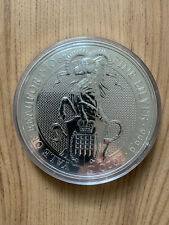 10 oz Silber 999.9 Queen's Beasts - Yale of Beaufort 2020