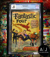 Fantastic Four #4 CGC 0.5 (Marvel) HIGH RES PICTURES!