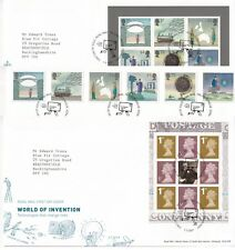 More details for first day cover gb 2007 world of invention [tallents house] typed address uk