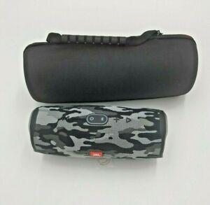 JBL Charge 4 Black Camo Waterproof Portable Bluetooth Speaker