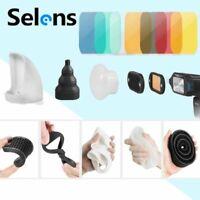 Selens Magnetic Flash Modifier Light Control Kit For C anon Speedlites Flash