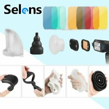 Selens Magnetic Flash Modifier Light Control Kit For C anon Speedlites Flash