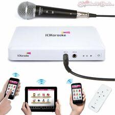 Hd Karaoke Hdk Box 2.0 Internet App Streaming Karaoke Machine + Microphone
