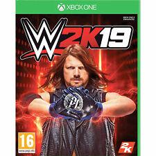 WWE 2K19 Wrestling (Xbox One) New and Sealed