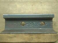 Rare Carnegie Steel Railroad Rail Train track Anvil Collectible 22 Lbs