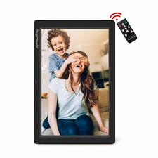 New RegeMoudal 12 Inch Electronic Photo Picture Frame Wireless Remote LCD SD USB