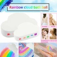 Cloud Rainbow Bath Salt Ball Essential Oil Effervescent Bath Bubble Skin Care