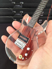 Dave Grohl Foo Fighters Dan Armstrong Clear Acrylic Mini Guitar - Free Shipping